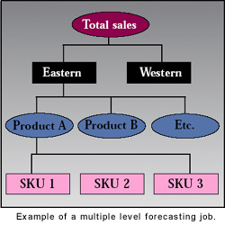 Forecast Pros Forecasting Methodology multiple level tree1