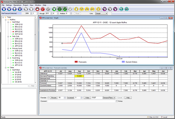 Forecast Pro TRAC Features6