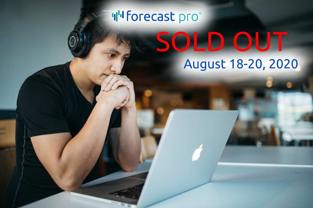 Online Workshop: Business Forecasting Techniques, Best Practices & Application Using Forecast Pro