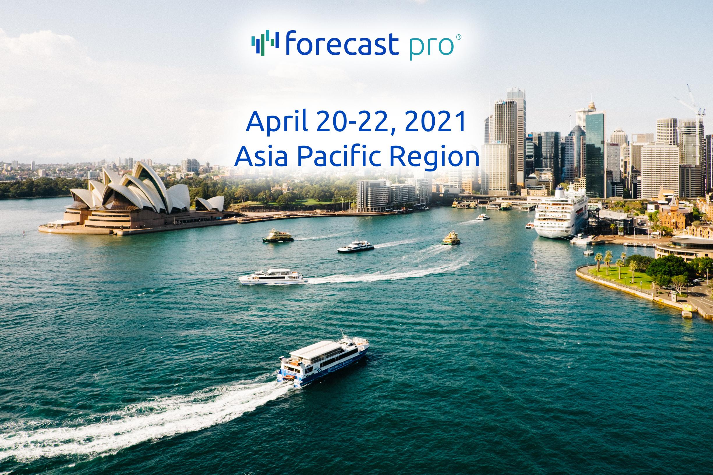 Live Online Workshop: Business Forecasting Techniques, Best Practices & Application Using Forecast Pro