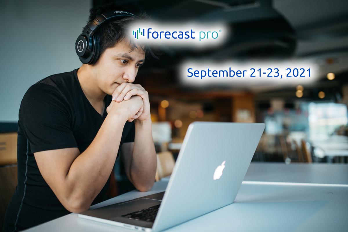 Online Business Forecasting Workshop - September 21-23, 2021