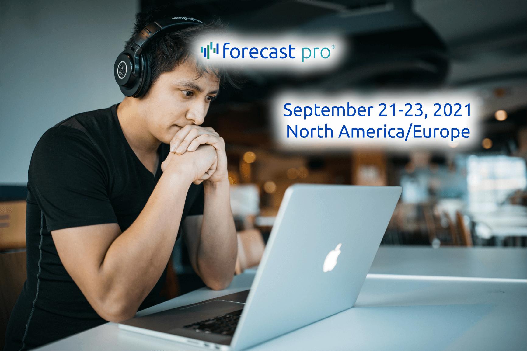September 21-23, 2021 Workshop Image (Man on computer)